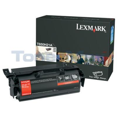 LEXMARK T650 T652 TONER CARTRIDGE 25K